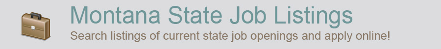 Montana State Job Listings icon